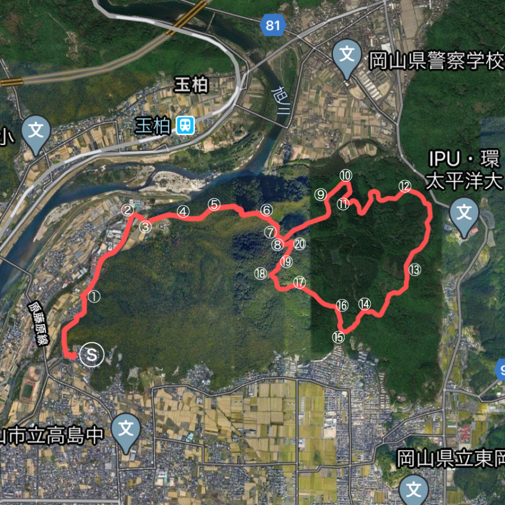 龍ノ口マップ1